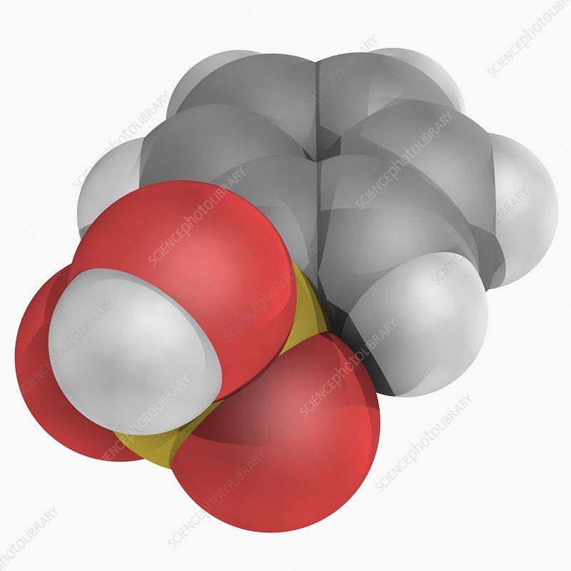 Benzenesulfonic acid molecule
