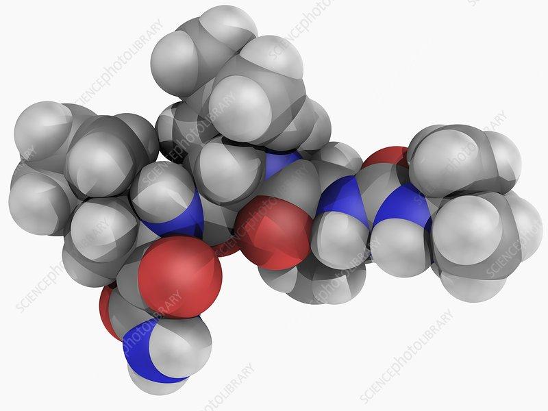 Boceprevir drug molecule