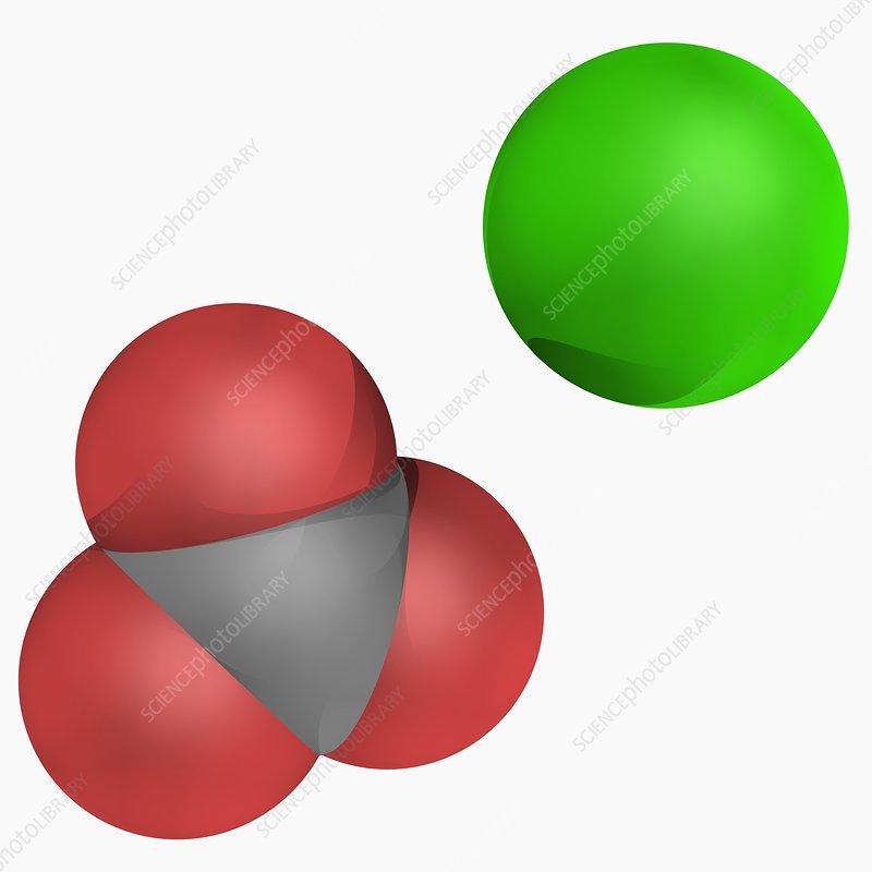 Calcium carbonate mole...