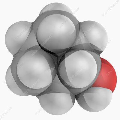 Cyclohexanol molecule