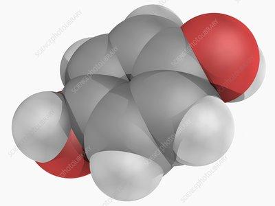 Hydroquinone molecule