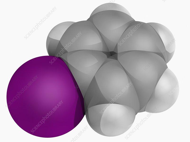 Iodobenzene molecule