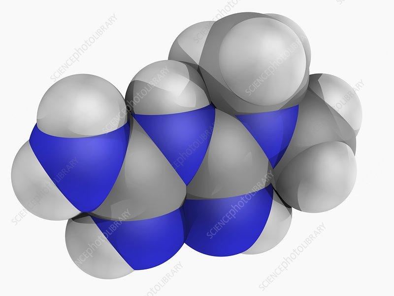 Metformin drug molecule