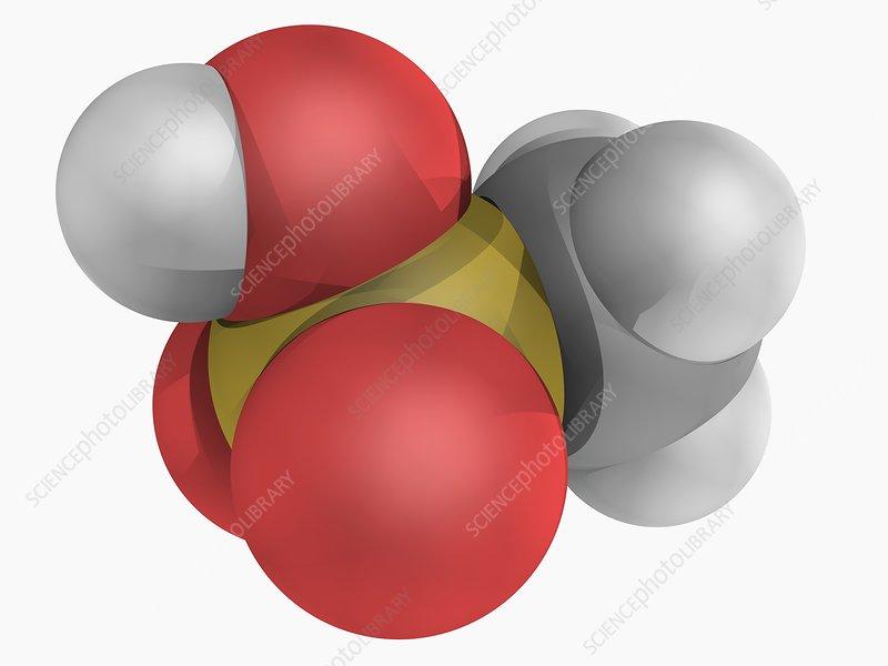 Methanesulfonic acid molecule