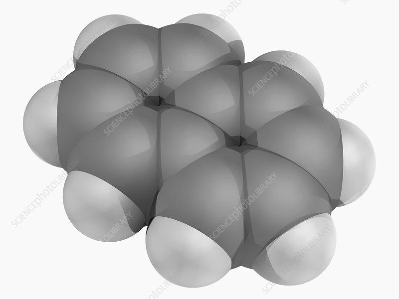 Naphtalene molecule