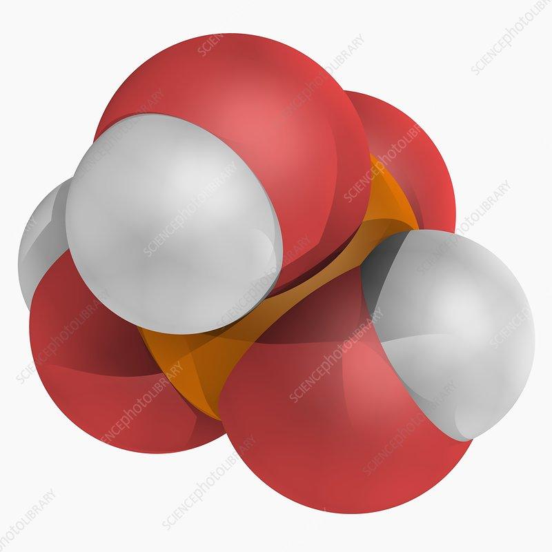 Phosphoric acid molecule
