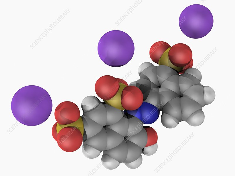 Ponceau 4R molecule