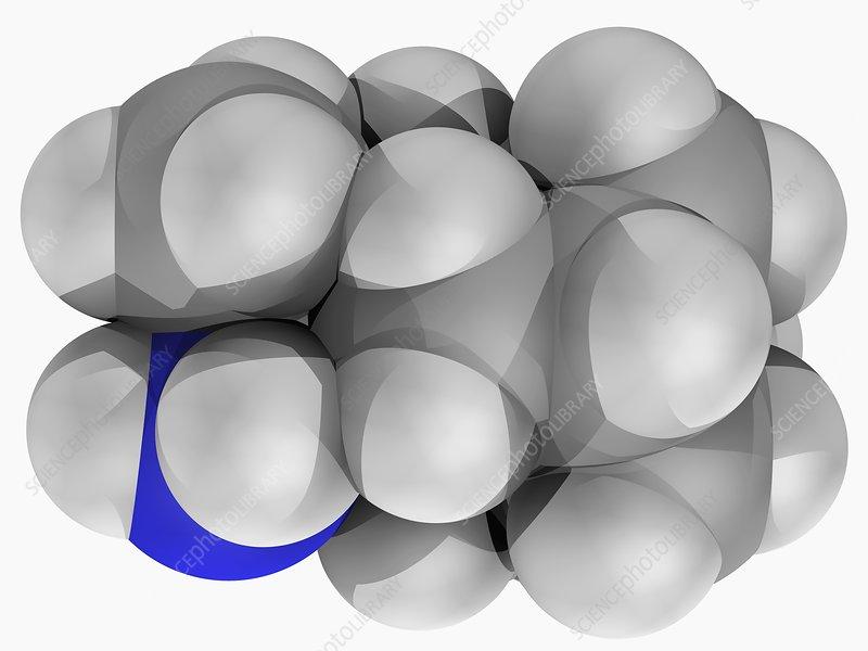 Rimantadine drug molecule
