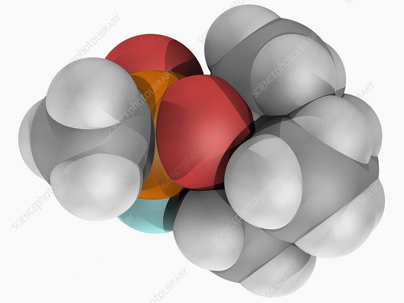 Soman molecule