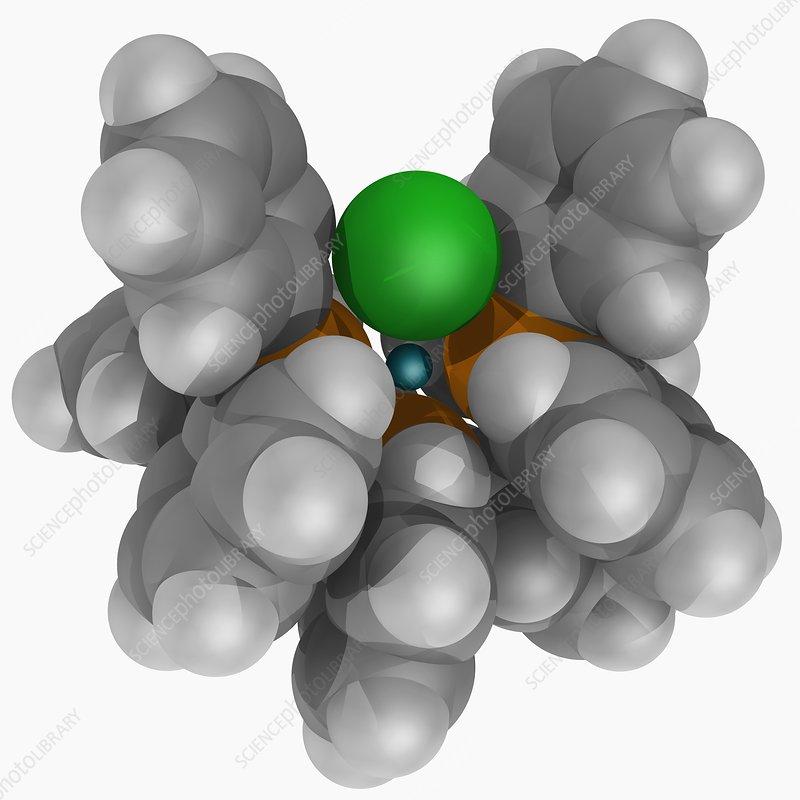 Wilkinson's catalyst molecule