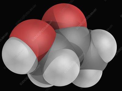 Acetol molecule