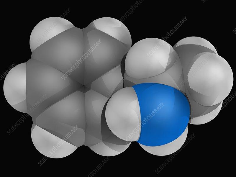 Amphetamine drug molecule