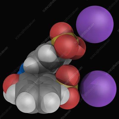 Azorubine molecule