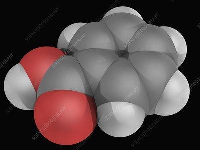 Benzoic acid molecule