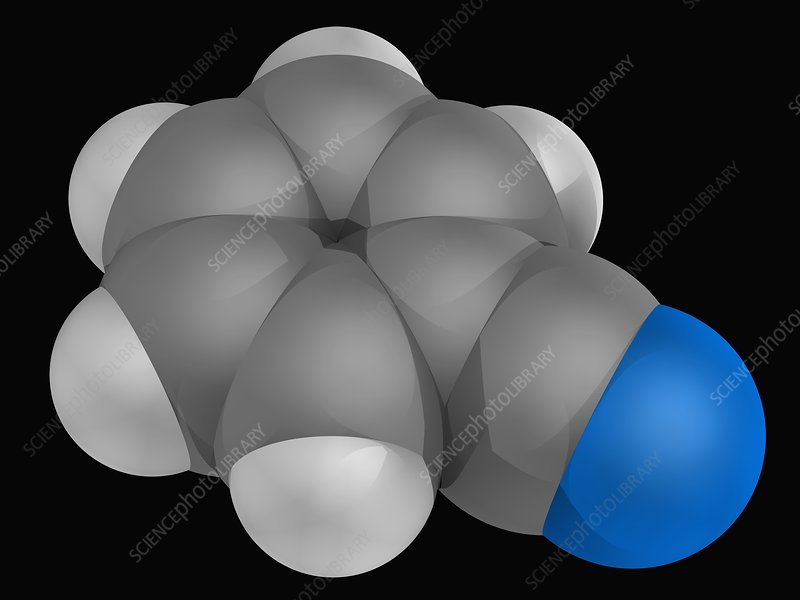 Benzonitrile molecule
