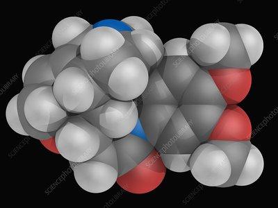 Brucine molecule