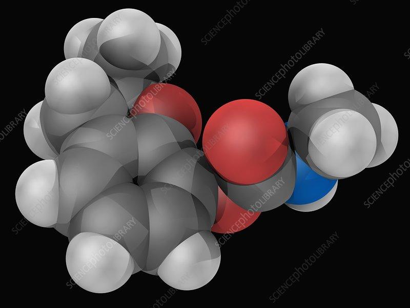 Carbofuran molecule