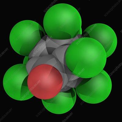 Chlordecone molecule