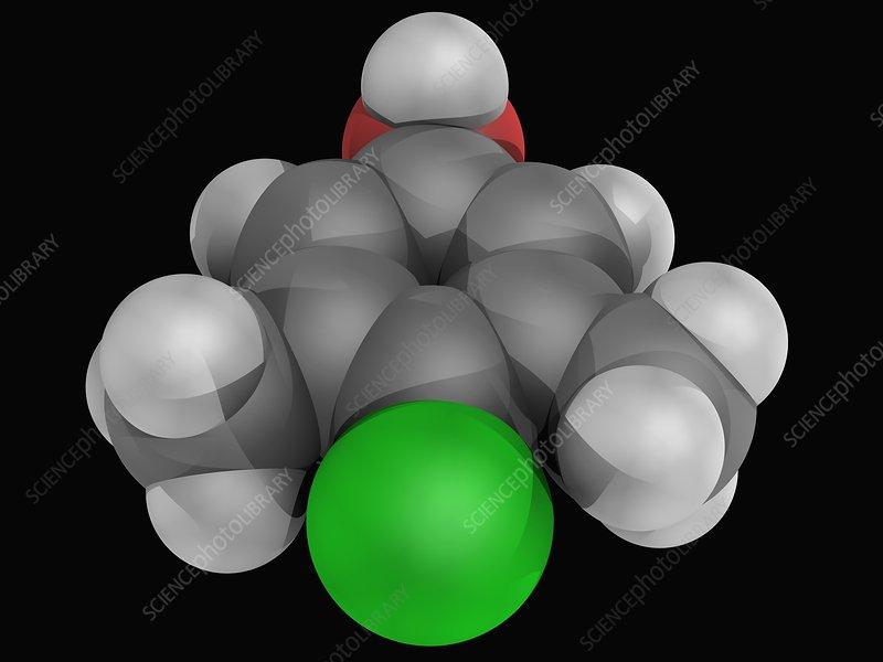 Chloroxylenol molecule