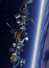 Space junk, artwork