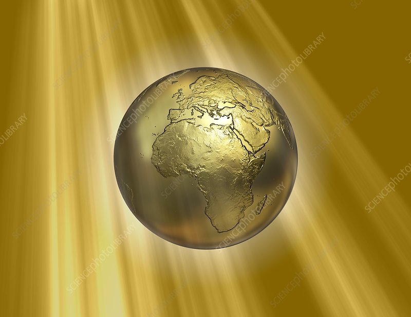 Golden Earth, artwork