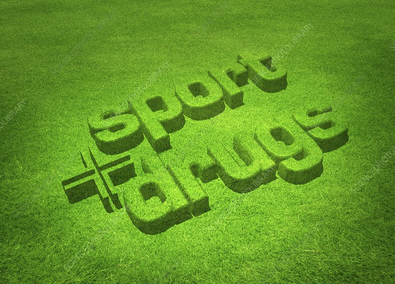 Drugs in sport, conceptual artwork