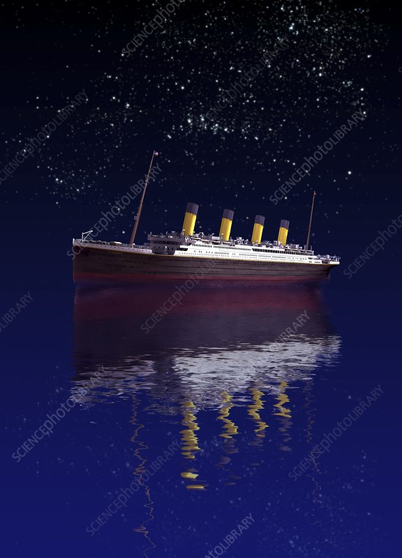 Titanic, artwork