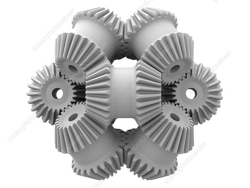 Gear wheels, artwork