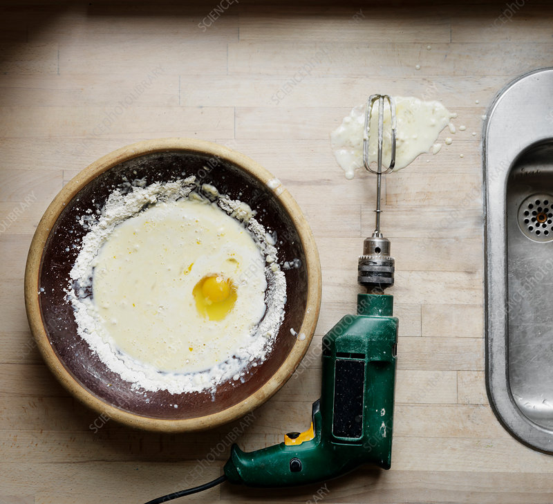egg drilling machine