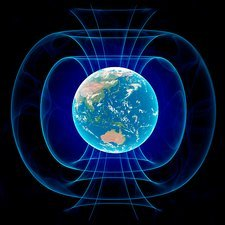 Earth's magnetic field, artwork