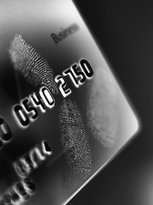 Credit card fraud, conceptual image