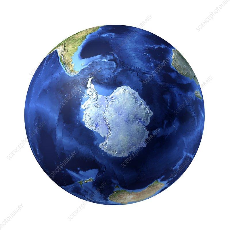 Antarctic, artwork
