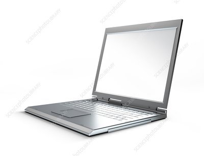 Laptop computer, artwork