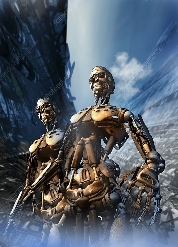 Cyborgs, artwork