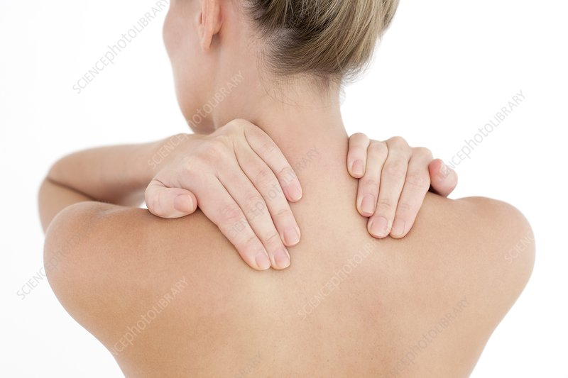 Woman's shoulders