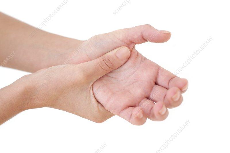 Woman's wrist