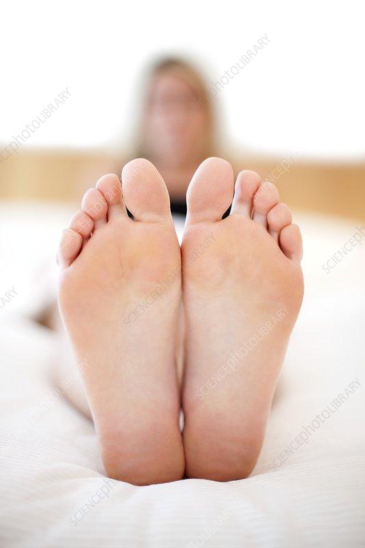 Woman's feet