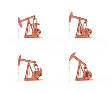 Oil pumps, artwork