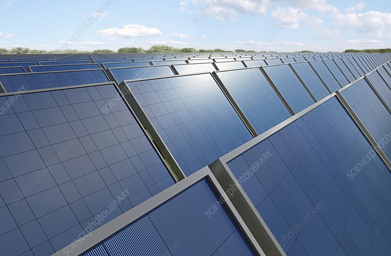 Solar panels, artwork