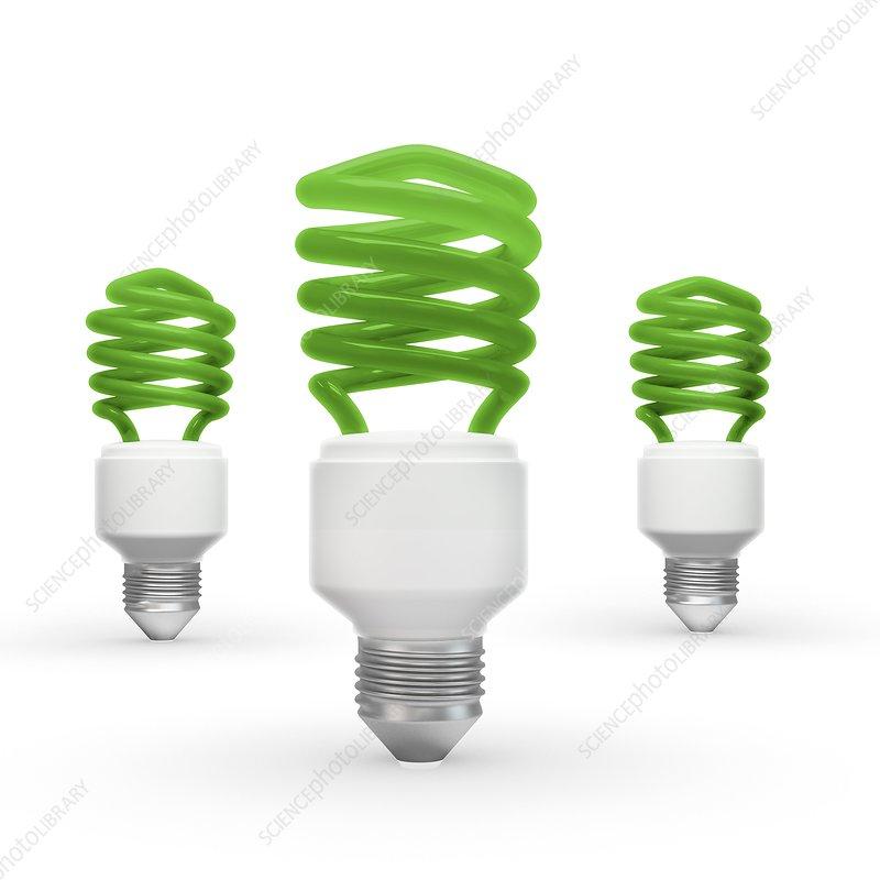 Green energy, conceptual artwork