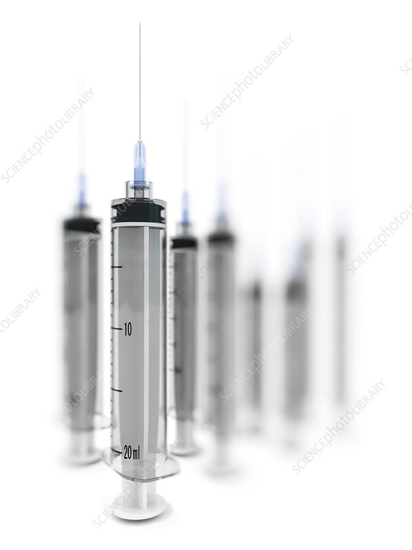 Syringes, artwork