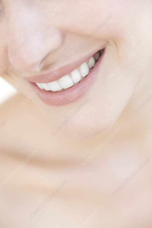 Woman's smile