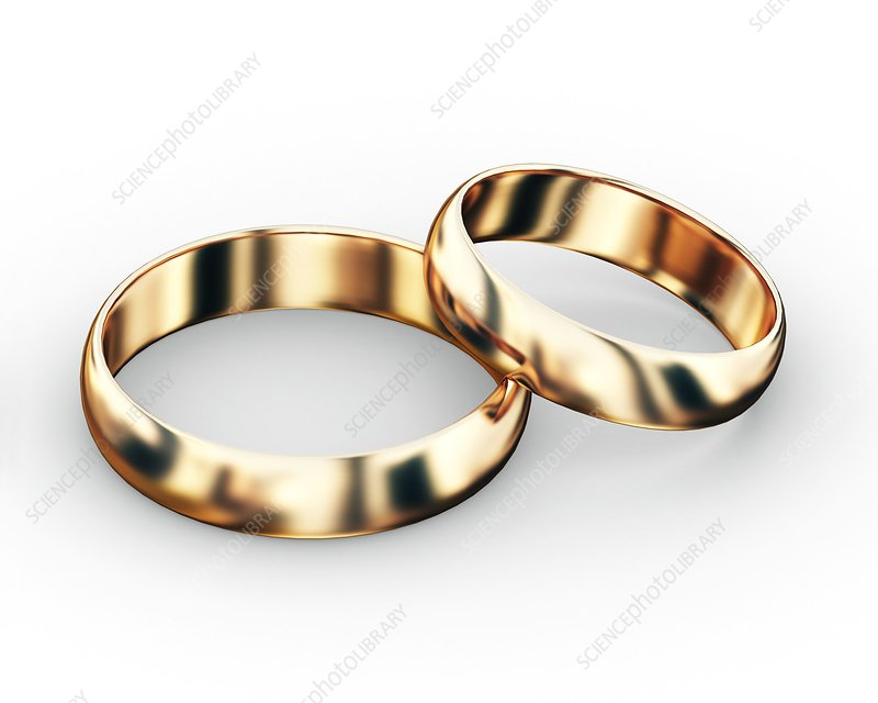Wedding rings, artwork