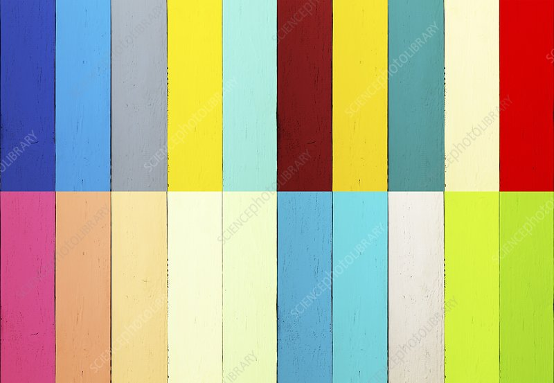 Multicoloured planks