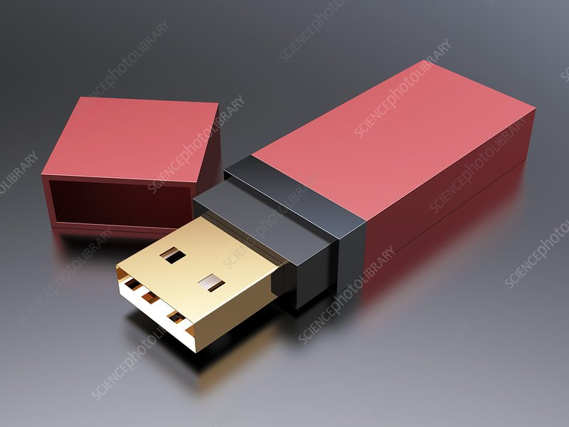 USB stick, artwork