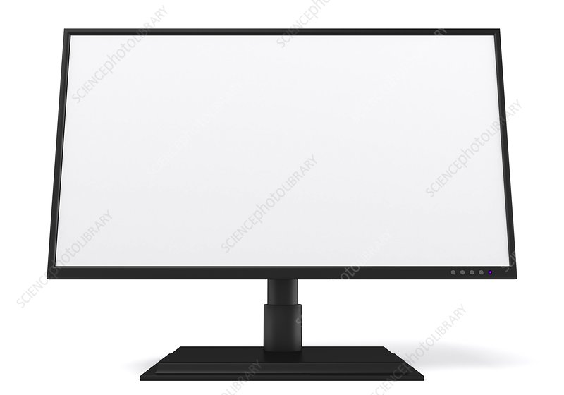 Flat screen monitor, artwork