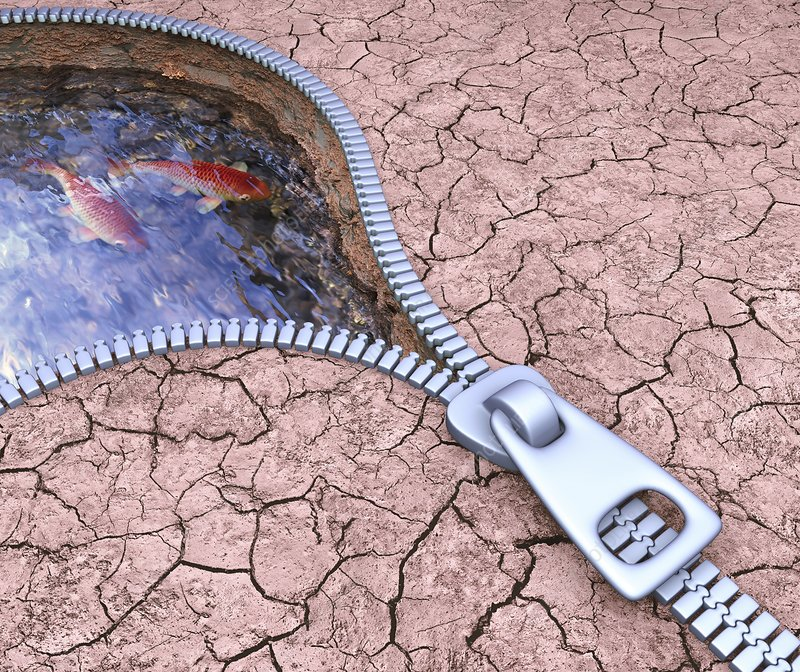 Drought, conceptual artwork