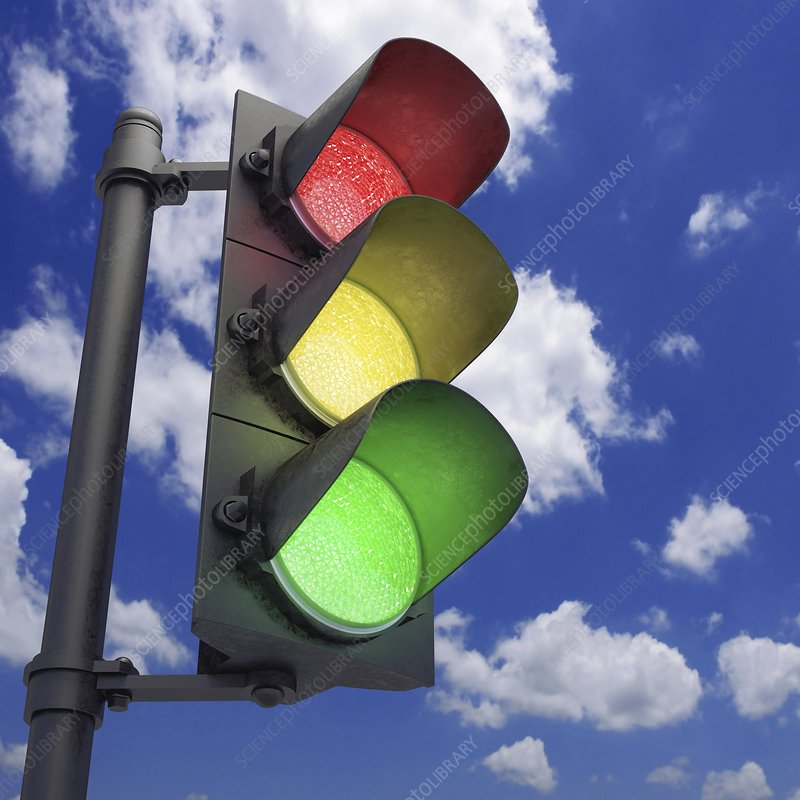 Traffic lights, artwork
