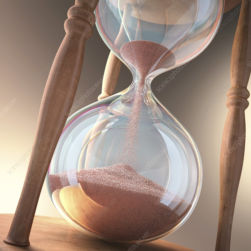 Hourglass, artwork