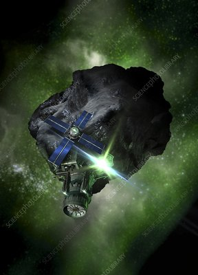 Asteroid mining, artwork